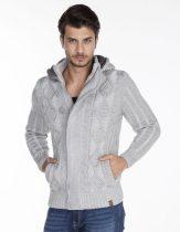 cipo&baxx szürke férfi kötött pulóver CP161 GREY