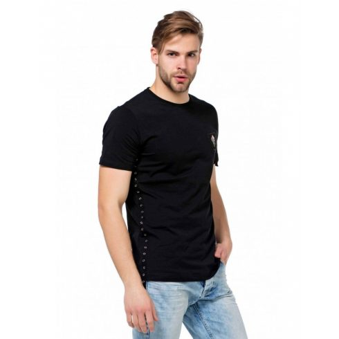 Cipo & Baxx fekete férfi póló
