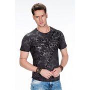 Cipo & Baxx prémium minőségű póló CT399 ANTRACITE
