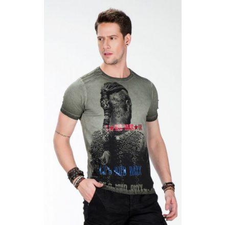 Cipo & Baxx blue T-shirt CT412khaki