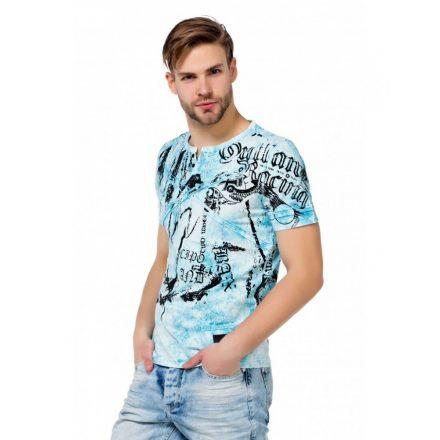 Cipo & Baxx férfi póló CT457 Blue