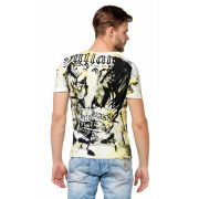 Cipo & Baxx men's T-shirt CT457YELLOW