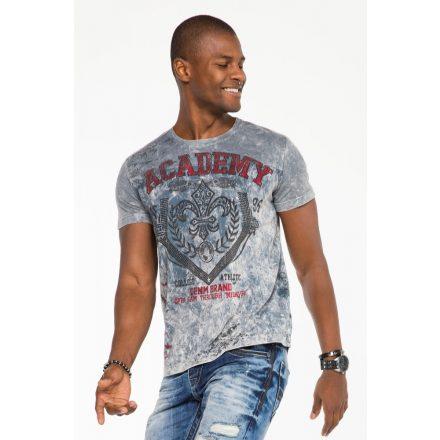 Cipo & Baxx fashionable men's T-shirt CT481antra