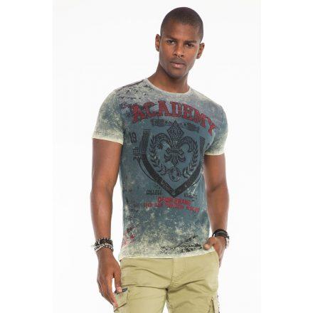 Cipo & Baxx fashionable men's T-shirt CT481khaki