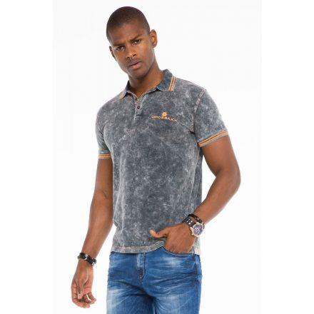 Cipo & Baxx fashionable men's T-shirt CT489antra
