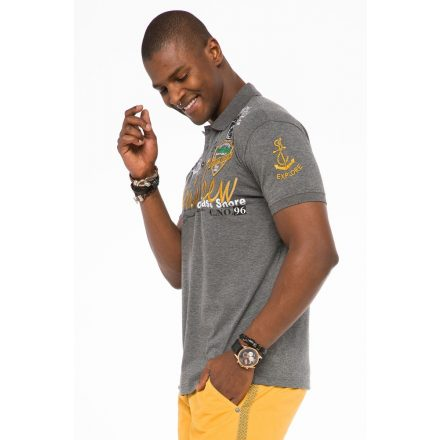 Cipo & Baxx fashionable men's T-shirt CT509antra