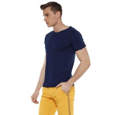 Cipo & Baxx divatos férfi póló CT525navyblue