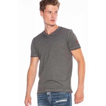 Cipo&baxx divatos férfi póló CT571KHAKI