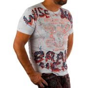 Cipo & Baxx divatos férfi póló CT595WHITE