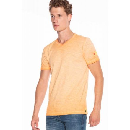 Cipo&baxx divatos férfi póló CT596ORANGE