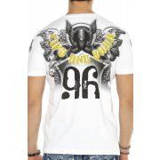 Cipo&Baxx divatos férfi póló CT598WHITE
