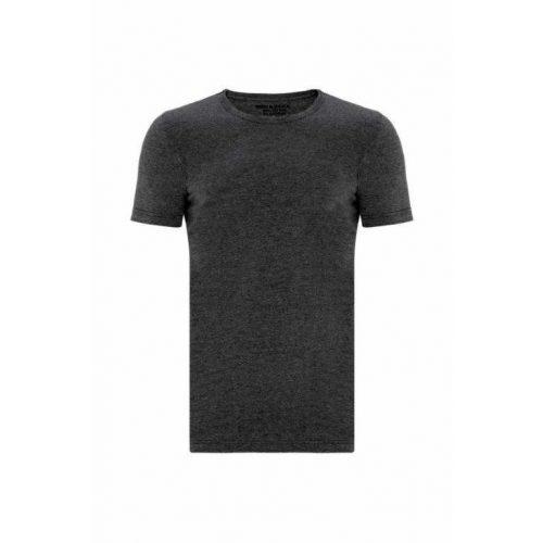 Cipo & Baxx divatos férfi póló CU105ANTHRACITE