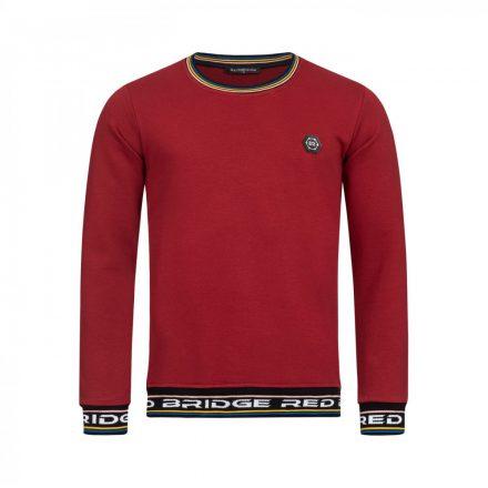 Red Bridge férfi pulóver M2175 bordeux