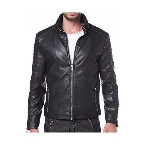 Red Bridge fashionable men's jacket M6002 BLACK