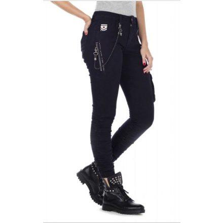 Cipo & Baxx divatos női farmer WD354 Blue