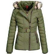 Cipo & Baxx női kabát WM100-KHAKI