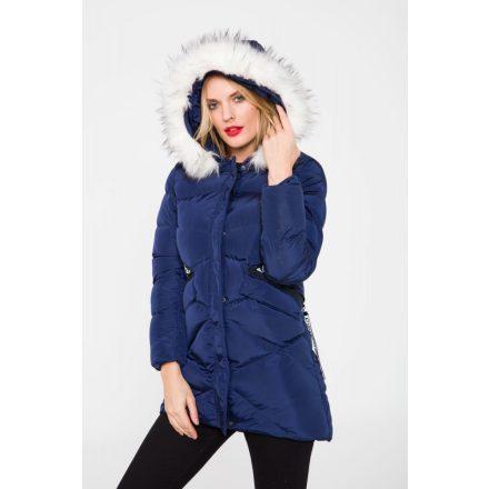 Cipo & Baxx divatos női kabát WM107NAVYBLUE KABÁT