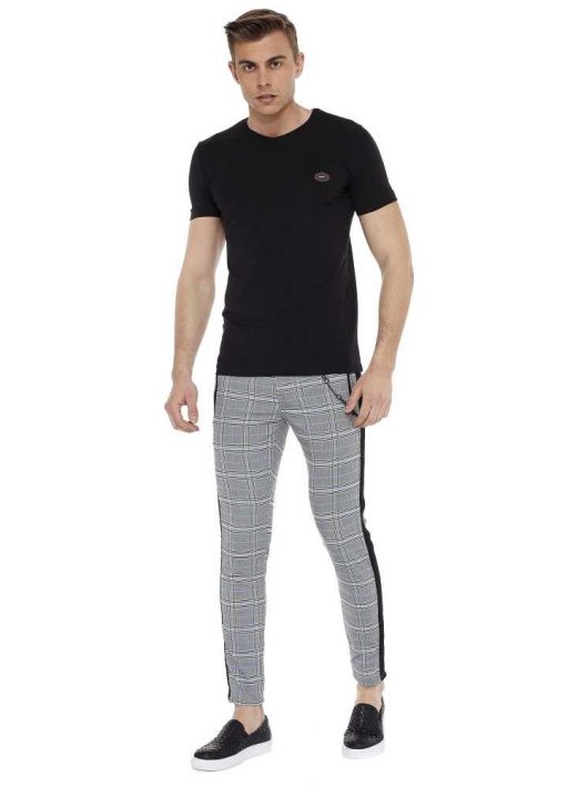 Cipo & Baxx divatos férfi póló ct522black