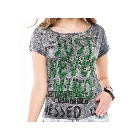 Cipo & Baxx divatos női póló wt234antra