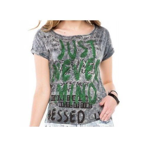 Cipo & Baxx fashionable women's T-shirt wt234antra