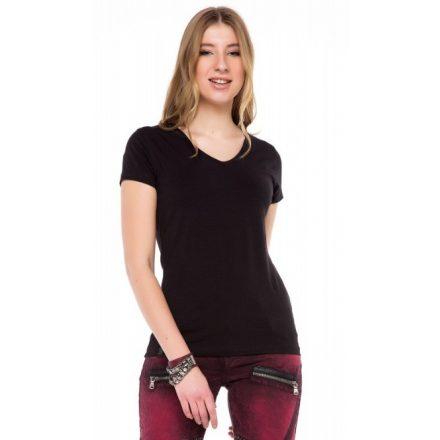 Cipo & Baxx divatos női póló wt250black